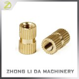 Injection Molding Brass Thread Knurled Inserts Nuts