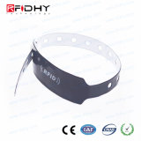 Colorful Disposable PVC RFID Wristband for Concert