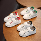 New Design Soft Baby Shoes White Shoes Kids Sport Shoes Children Casual Prewalker