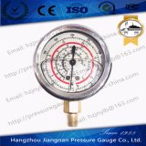 60mm 2.5′′ Stainless Steel Oil Filled Refrigeration Pressure Gauge R22/R404A/R407c/R134A