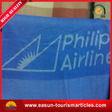 Polyester Non Woven Fleece Aviation Blanket Manufacturer for Airlines