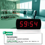 [Ganxin] Red LED Digital Wall Clock for Home Decor
