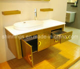 1.2 Meter Golden Bathroom Basin Cabinet
