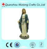 Love People Woman Mary Statue Polyresin Material Garden Decoration