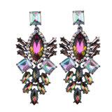 Diamond Earrings Pierced Earrings Geometric Fashion Long Earrings