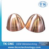 Metal Spinning Factory Copper Sheet Metal Fabrication Shade, Cover, Reflector Customized