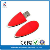 Charming Red Plastic 8GB USB Drive