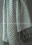 Jacquard Wool Throw, Wool Throw, Throw
