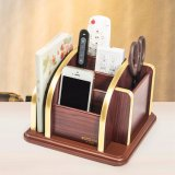 Wooden All in One Storage Holder with Removable Base Plate