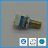 8mm Rotary Potentiometer with Cooper Shaft for Radio Equipment