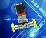 Sanitary Stainless Steel Mini Diaphragm Valve with Weld Ends