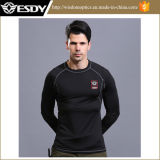 Military Lightweight Training Long Sleeved Thermal Underwear Warm Shirts
