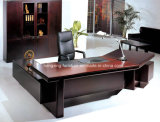 Luxury Melamine Wooden Table Top Executive Office Desk (HX-FCD057)