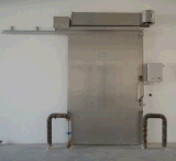 Electric Gate for Cold Storage
