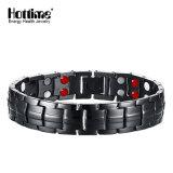 Newest Fashion Wholesale Black Gun Magnetic Steel Bracelet