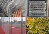 Sailin Galvanized/PVC Chain Link Fence