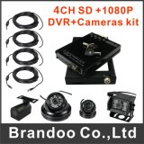 4 Channel 1080P HDD Mobile DVR for Vehicles