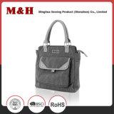 Low MOQ Wholesale Price Printing PU Leather Designer Handbags
