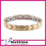 Adjustable Size Ipg Plated Gold Color Magnetic Bracelet Fashion Jewelry