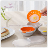 Cooking Tools Plastic PP Microwave Oven Egg Cooker 24*11.5*6