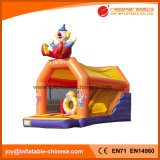 2017 Inflatable Clown Jumping Castle/ inflatable Toy with Slide (T4-609)