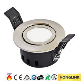 Ce RoHS BS476 90mins Fire Resistance 5W 380lm 220V AC LED Downlight