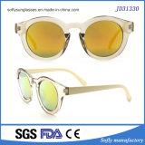 High Quality Colorful Fashion Novel Transparent Material Women Sunglasses