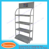 Metal Customized Engine Oil Display Shelf Rack for 4s Shop