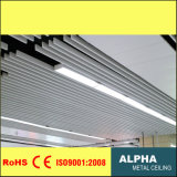 Aluminum Metal Suspended U Shaped Baffle Ceiling
