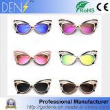 Fashion Women Sunglasses Cat Eye Butterfly Alloy Frame Sunglasses