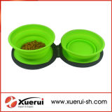 Silicone Dog Bowl, Silicone Collapsible Pet Bowl