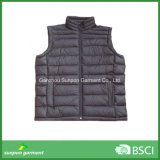 Down-Like Padding Vest for Cold Winter Sleeveless Jacket Style