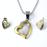 Jewelry Ladies Suit Design Jewelry Sets Wholesale 316L Stainless Steel Big Fashion Jewelry Set
