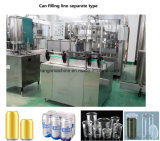 Filling Machine for Carbonated Beverages Drink in 350/355ml Pet Cans
