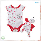 Newborn Baby Clothes Printing Babies Bodysuit Set