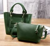 2017 New Multi-Poket Hand Bag Single Color Leisure Ladies Bag Set Hcy-5027