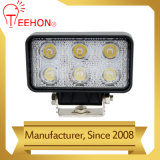 18W Square 12V 24V Car Boat Truck LED Flood Light