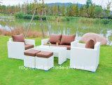Hot Sale Wicker Patio Sofa Outdoor Rattan Garden Furniture (GN-9103S)