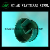 Stainless Steel Radiused Curved End Cap