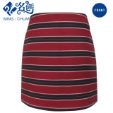 Newstyle Cross-Stripe Red Rear-Zipper Fashion Women Skirt