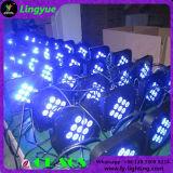 9PCS Mini Single LED Lights Battery Powered LED PAR Can