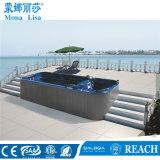 Large Two Zones Swimming SPA Pool Swim Massage Pool