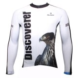 White Eagle Sports Long Sleeve Men′s Breathable Cycling Jersey