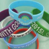 Custom Design Colorful Silicone Bracelet for Promotion