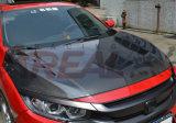 Carbon Fiber Bonnet Hood for Honda Civic 10th 2016
