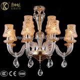 European Champagne Crystal Chandelier Light