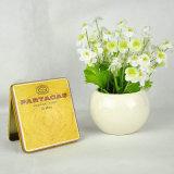 Cmyk Printing Custom Rectangular Cigarette Box Two Pieces Tin