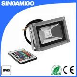 30W RGB LED Flood Light with Remote Controlr (SFLED4-030)