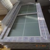 China Factory Sale Fiberglass Plastic Profile Frame UPVC Casement Glass Door for Bathroom