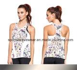 Women Sun Top with Adjustable Straps Designs Tank Top